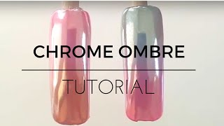 Download How to Chrome nails tutorial ombre gradient fade Video