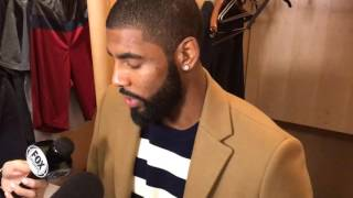 Download Kyrie Irving on Kevin Love's hot shooting night Video