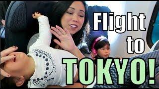 Download 10 Hour Flight to Tokyo! - Nov 08, 2015 -ItsJudysLife Vlogs Video