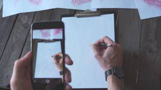 Download تطبيق جديد يساعدك على أن تصبح رسام محترف بالإعتماد على تقنية الواقع المعزز ( augmented reality ) Video