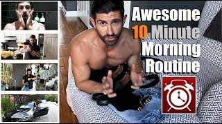 Download The ULTIMATE 10 Min Morning Routine   Tricks To Get Ready FASTER & MORE Efficiently! Video
