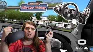 Download Set Up | City Car Driving | Oculus Rift Video