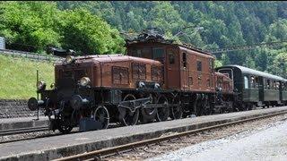 Download Krokodil am Gotthard Sommer 2013 - Zug,trainfart,train Video