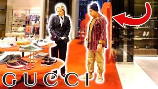 Download WEARING RAGS TO THE GUCCI STORE!! Video