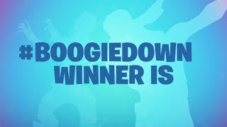 Download #boogiedown CONTEST WINNERS ANNOUNCED Video
