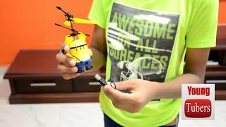 Download Flying Minion Unboxing and Testing, best toy for kids Video