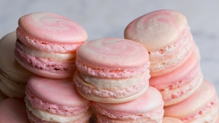 Download Strawberry Cheesecake Macarons Video
