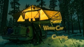 Download Mt Shasta Roof Top Tent | CVT Cascadia Vehicle Tents | Winter Car Camping Video