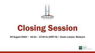 Download IFLA WLIC 2018: Closing Session Video