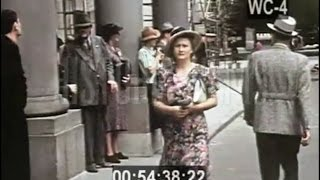 Download Warsaw 1938 in Color Kolorowa Warszawa 1938 unikalny film! Video
