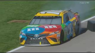 Download Monster Energy NASCAR Cup Series 2017. Las Vegas Motor Speedway. Battle for Win & After Finish Fight Video