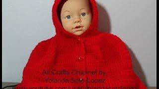 Download Aprenda a tejer una Capita en #Crochet inspirada por ″capercuita roja″ -video uno Video