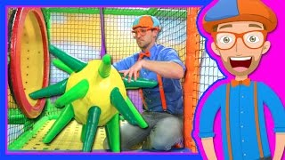 Download Learn Colors with Blippi at the Indoor Playground | 1 Hour Video