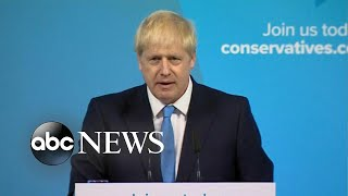 Download Boris Johnson named British prime minister Video