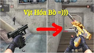 Download Trào Lưu ″ Vịt Hóa Thiên Nga ″ | Phiên Bản CF Mobile/CF Legends √ Video