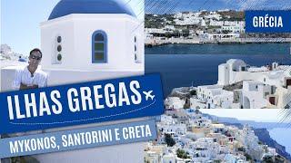 Download As famosas Ilhas da Grécia (MYKONOS, SANTORINI E CRETA) Video