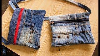 Download Reciclaje de Jeans: Bandoleras Pequeñas Video