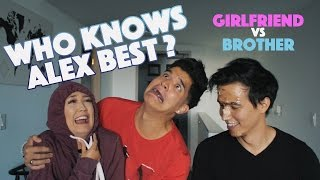 Download Who Knows Alex Best? GIRLFRIEND vs BROTHER! Video