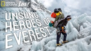 Download Unsung Heroes of Everest | Nat Geo Live Video