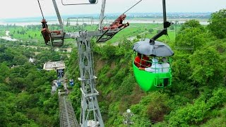 Download Ropeway to Chandi Devi Temple, Haridwar Video