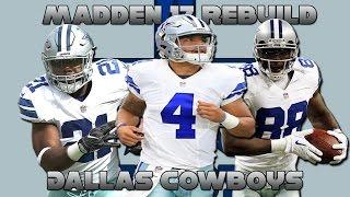 Download Madden 17 Rebuild   Dallas Cowboys   UNDEFEATED SEASON?! Video