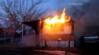 Download 12-7-13 Mobile Home Fire Video