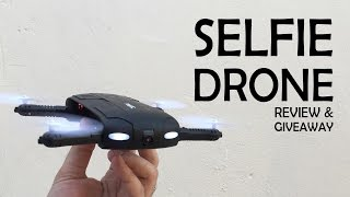 Download Smallest foldable drone review & Giveaway! | JJRC H37 foldable selfie drone | Gearbest Video