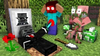 Download Monster School : RIP Wither Skeleton - Minecraft Animation Video