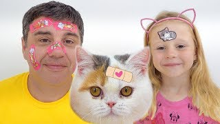 Download The Boo Boo Story from Nastya and Papa Video
