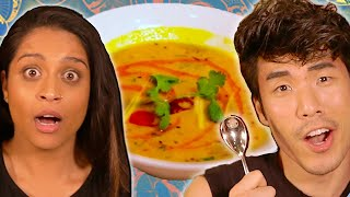 Download The Try Guys $850 Indian Food Challenge ft. Lilly Singh Video