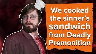 Download We cooked the sinner's sandwich from Deadly Premonition Video