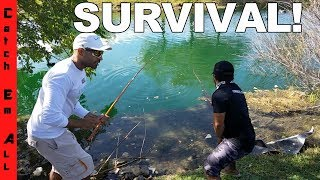 Download FISHING DITCHES for FOOD! Video