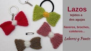 Download Como tejer lazos de colores a dos agujas- Labores y Punto Video