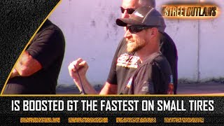 Download Is Streetoutlaws Boosted Gt the fastest on small tire ? Video