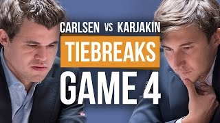 Download Carlsen vs Karjakin: World Championship Tiebreak Game 4 Video