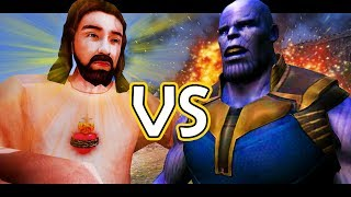Download THANOS vs JESUS!! - Ultimate Epic Battle Simulator! Video