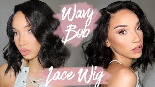 Download Messy Waves / Bob / Lob - Lace Wig | My Signature Style | RAVEN ELYSE Video