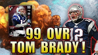 Download 1ST 99 OVERALL TOM BRADY IS A GOON!!! - MADDEN NFL 17 ULTIMATE TEAM Video