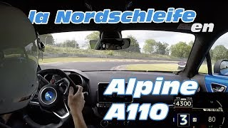Download New Alpine A110 - Hot lap at Nürburgring nordschleife (Track mode, ESC off, on board) Video
