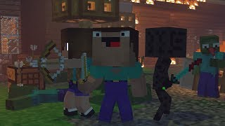 Download Skyblock War: Part 1 - Minecraft Animation | Noob & Brothes Series Video