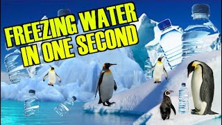 Download FREEZE WATER IN 1 SECOND :) VERY COOL Video