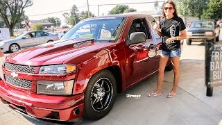 Download FASTEST WOMAN IN OKLAHOMA! STREET OUTLAWS! TINA PIERCE DEBUTS HER LSX COLORADO! HOT ROD DRAG WEEK! Video