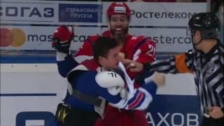 Download Major KHL Fight: Lokomotiv vs SKA Video