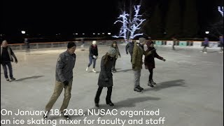 Download Faculty and staff come together for 2018 ice skating mixer Video