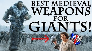 Download What medieval weapons would fantasy GIANTS really use? FANTASY RE-ARMED Video
