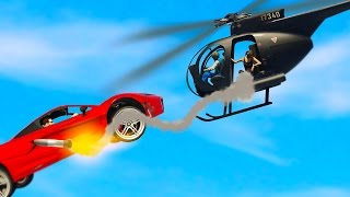 Download SUPERCAR VS HELICOPTER! (GTA 5 Funny Moments) Video