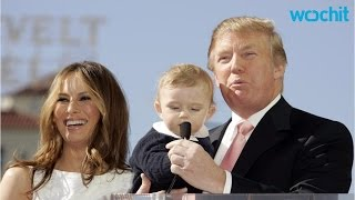 Download Mini Me Alert! Donald Trump's 8-Year-Old Son Barron Looks Almost Exactly Like Him Video