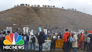 Download Standing Rock Protests Don't Stop For Thanksgiving | NBC News Video