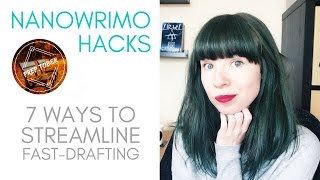 Download NaNoWriMo Hacks: 7 Ways to Streamline Fast-Drafting Video