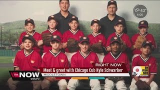 Download Cubs left fielder Kyle Schwarber returns home to Middletown Video